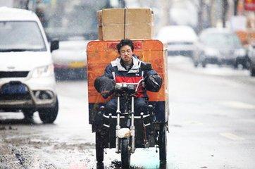 青岛:寄递企业电动三轮车年底前实现五统一管理
