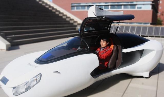 可以横着走的两轮电动汽车 你敢开吗?