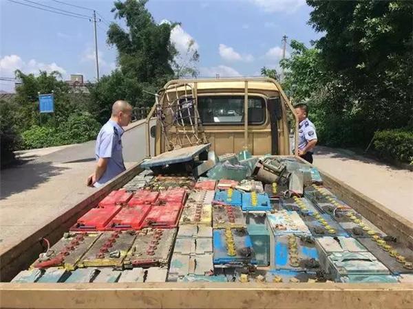 废电池生意怎么做?安徽一废电瓶回收厂被查  负责人被抓!