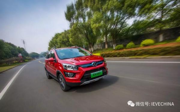 7.99万起的新时代国民纯电动SUV--北汽新能源EX360亮相北京展