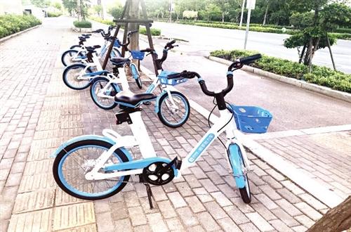 福州现无牌共享电动车 骑了小心被罚!