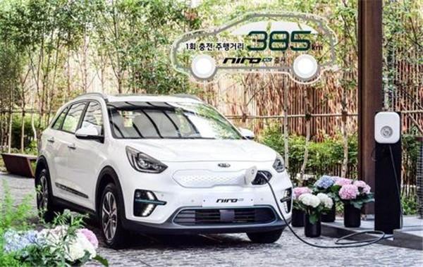 起亚Niro纯电动汽车韩国上市 续航可达350公里