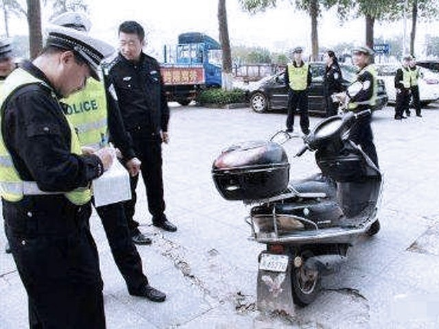 苏州发电动车超标严重警示 开始抽检违规车辆及配件