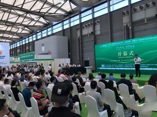 新能源汽车及充电设施展今日在上海举行