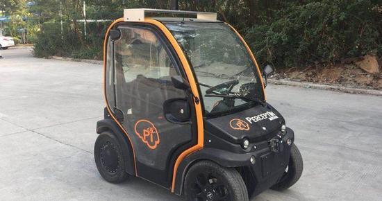 国外厂商山寨国内低速电动车 一台的价格抵10台低速车