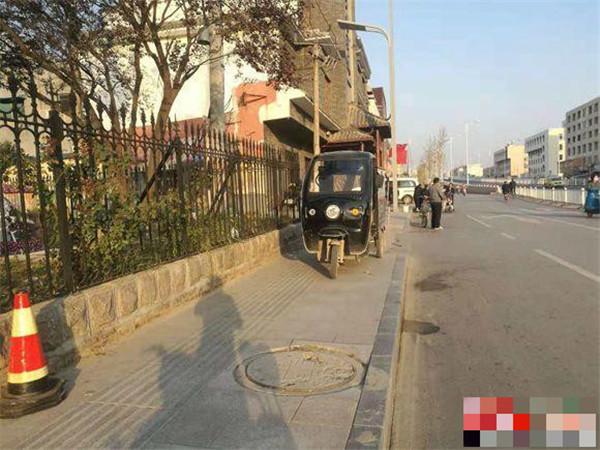 菏泽部分区域电动车限行之后,市民多种方式出行!