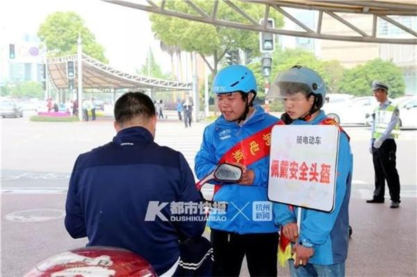 比酒驾查得还严!骑乐博现金第一平台不戴头盔要被拘留?浙江人朋友圈热传的这条消息是真的吗?