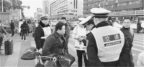 郑州30个重点路口不到仨月 查电动车交通违法5万多起