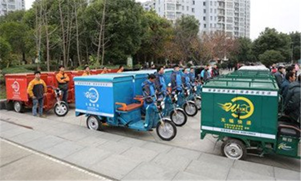 台州:8000多辆快递电动车有规可依