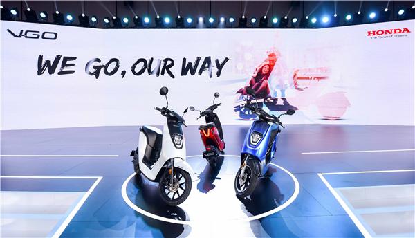 Honda新品V-GO发布 加速摩托车电动化战略布局
