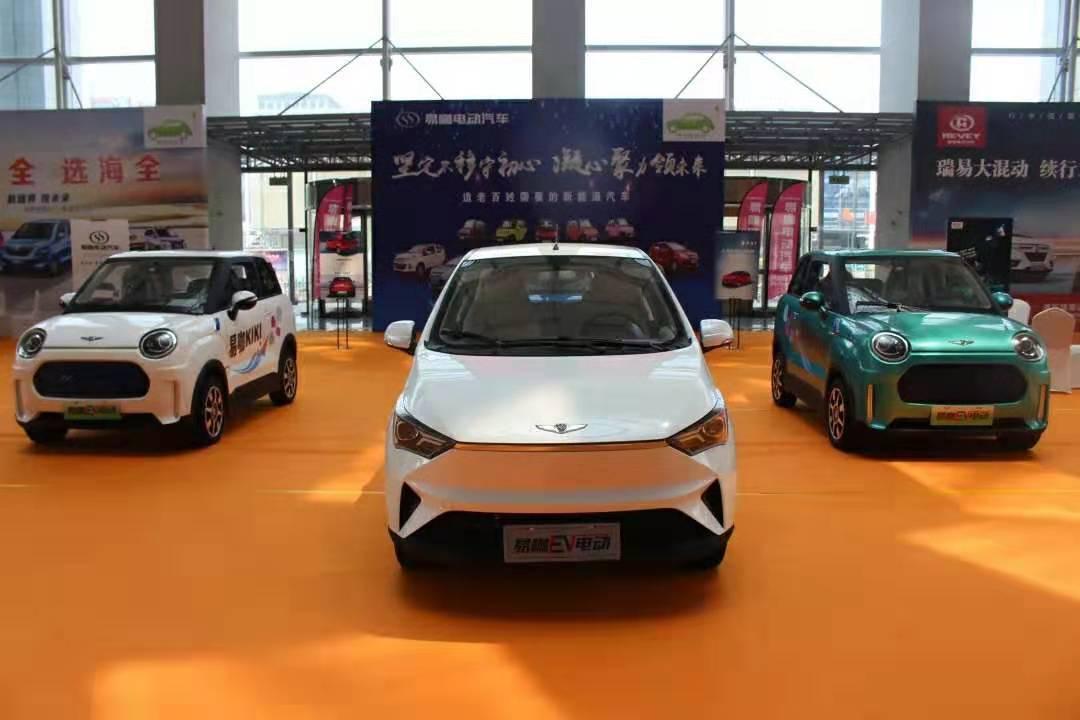 青岛国际车展,易咖电动汽车与宝马、奥迪、玛莎拉蒂等同台竞展!