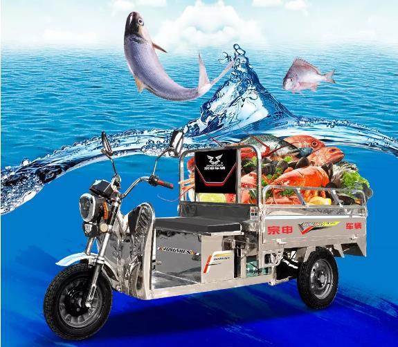 宗申T6風致:最適合海鮮運輸的電動三輪車