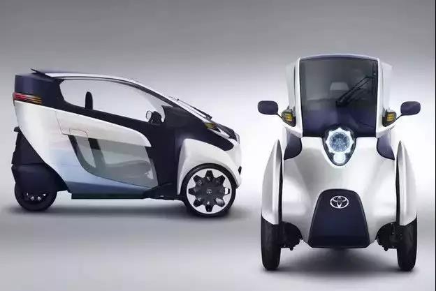 丰田推出电动倒三轮,最高时速45公里