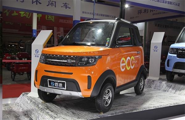 恩途2019新品引爆展会——最懂你的微电轿!