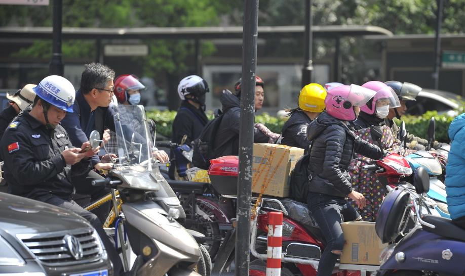 菏澤市電動自行車將安裝全省統一號牌