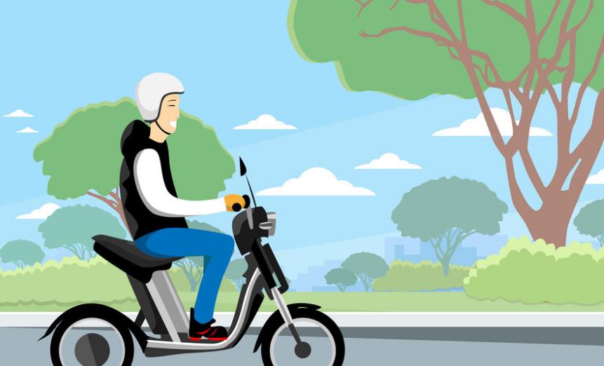 騎電動自行車的山西人,你戴頭盔了嗎?