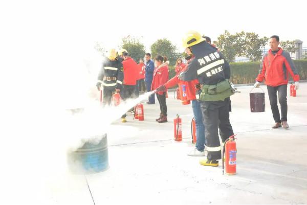 提高安全意識,守護平安綠佳   河南綠佳舉行冬季消防演習