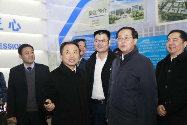 新年上班第一天,省委書記車俊赴天能調研!