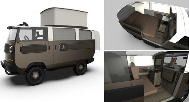 德国公司公布了一款高度模块化的电动概念车