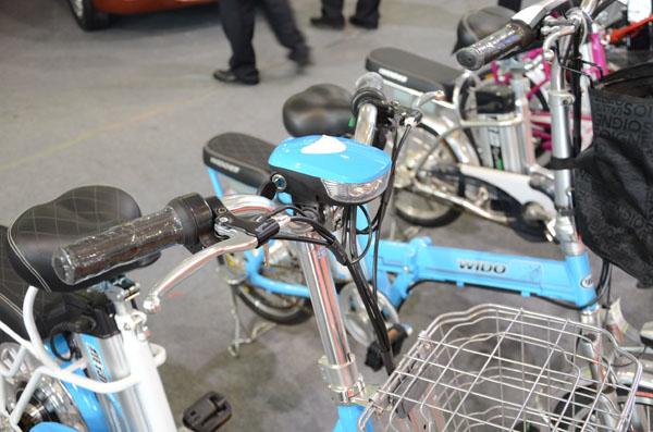 维动电动自行车济南电动车风采展