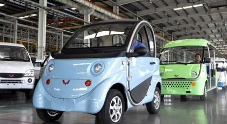 五菱汽车加速研发新能源汽车 计划推广1000辆