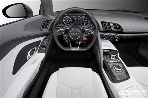 奥迪的无人驾驶系统由激光扫描传感器、数个摄像头、超声波传感器、高清图片
