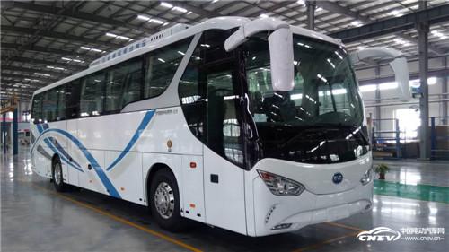 天津比亚迪纯电动客车下线 打造中国制造新典范高清图片
